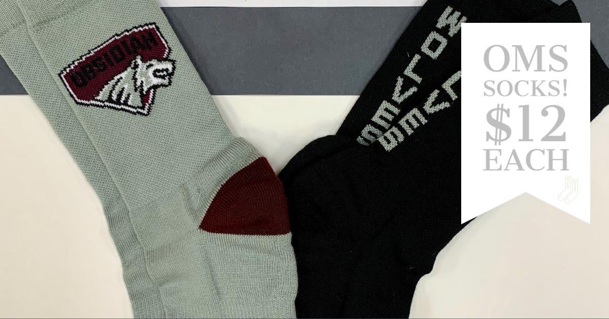 OMS Socks for sale $12 each