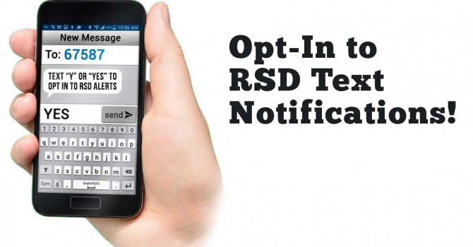 opt in to text alerts logo